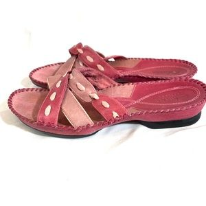 Clark's Collection Lightweight Leather Sandals 8.5